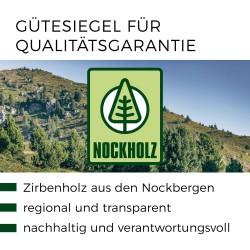 Qualitsgarantie Zertifikat, nachweisliches Holz aus Österreicht - luftgetrocknet das garantiert die Schröcker Tischlerei