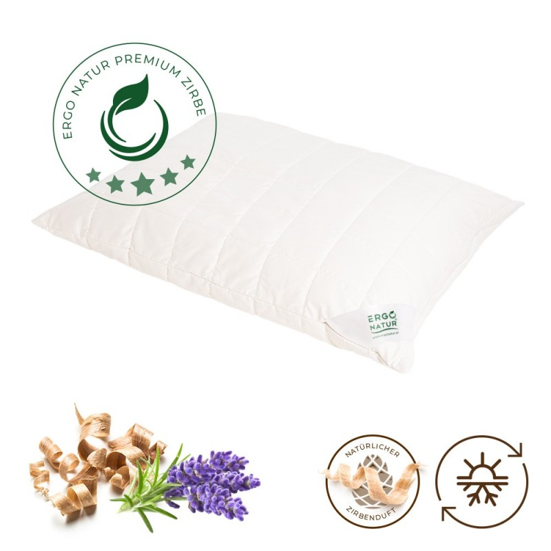 Kissen mit Lavendel und Zirbenfüllung by Ergonatur