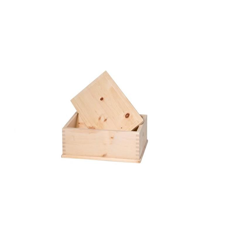 Brotkasten aus Zirbenholz mit Deckel