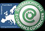 das-zirbenbett.kaufen ist zertifiziert für das österreichische E-Commerce Gütezeichen
